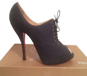 Christian Louboutin Grey Pumps