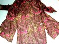 Athleta Brown Pink Paisley Silk 3/4 Sleeve Beach Cover-up Kaftan Mid-length Short Casual Dress Size 10 (M) Athleta Brown Pink Paisley Silk 3/4 Sleeve Beach Cover-up Kaftan Mid-length Short Casual Dress Size 10 (M) Image 4