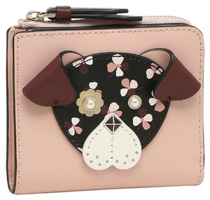 Kate Spade KATE SPADE Floral Pup Small Bifold Wallet