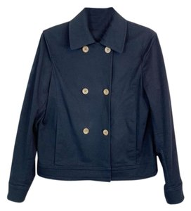 Luciano Barbera Double Breasted Twill Military Jacket