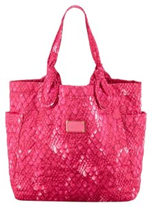 Marc by Marc Jacobs Diaper Gym Lightweight Nylon Tote in Pink