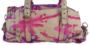Prada Hand Painted Tie Dye One Of A Kind Expandable Shoulder Bag