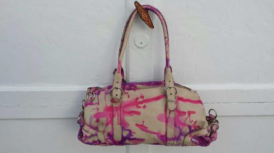 Prada Hand Painted Tie Dye One Of A Kind Expandable Shoulder Bag Image 1