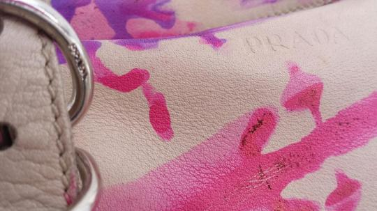 Prada Hand Painted Tie Dye One Of A Kind Expandable Shoulder Bag Image 4