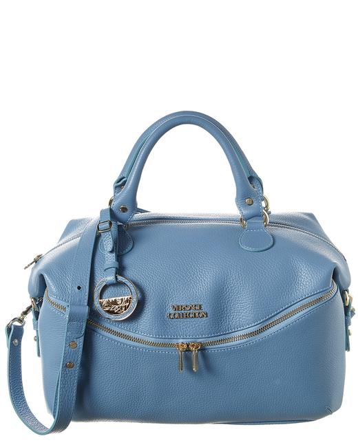 Item - Leather Blue Tote