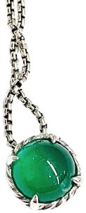 David Yurman GORGEOUS!! David Yurman Green Onyx Chatelaine Necklace