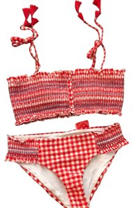 Red Carter gingham set