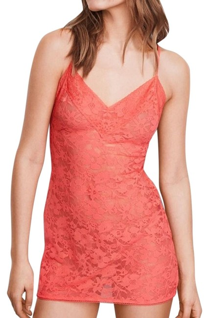 Item - Orange New Sunset Peach The Lacie Slip Small Mid-length Night Out Dress Size 6 (S)