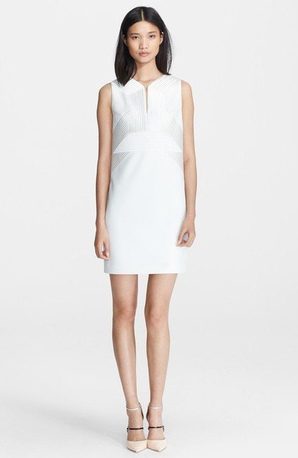 Robert Rodriguez Quorra Embroidered Sleeveless Knee Length Dress