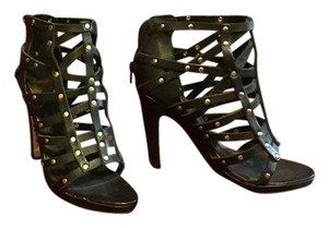 Dolce Vita Black gold studded Sandals
