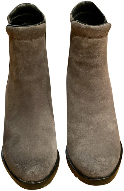 Item - Grey After Hours Chelsea Wedge Boots/Booties Size US 6 Regular (M, B)
