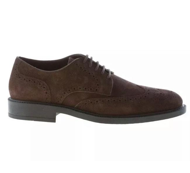 Tod's Dark Brown New Mens Suede Lace-up Wingtip Brogue Derby Size:9 Flats Size US 9 Regular (M, B) Tod's Dark Brown New Mens Suede Lace-up Wingtip Brogue Derby Size:9 Flats Size US 9 Regular (M, B) Image 1