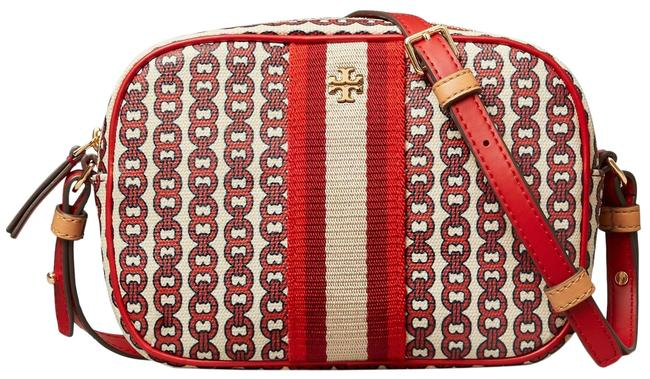Item - Gemini Link Liberty Red Canvas Cross Body Bag