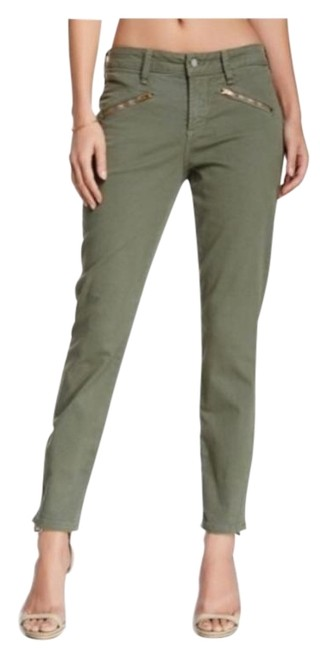 Item - Green Angelina Zip Ankle In Rosemary Jeggings Size 30 (6, M)