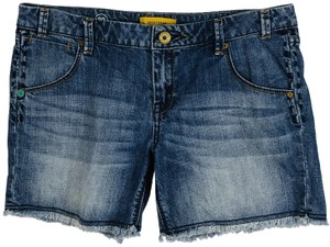 MEK DNM Cut Off Denim Shorts