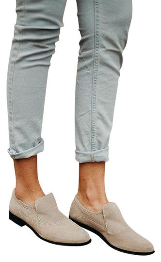 Free People Taupe Brady Loafer Flats