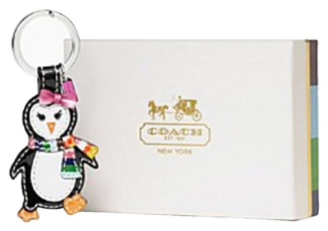 Item - Multicolor Legacy Stripe Penguin Keychain