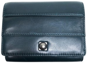 Reed Krakoff Reed Krakoff for Coach Small Blue Flap Wallet