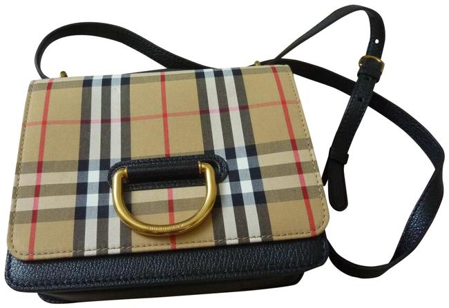 Item - Crossbody Small 'd-ring' Check Multicolor Canvas Messenger Bag