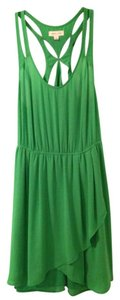 Silence + Noise short dress Green on Tradesy