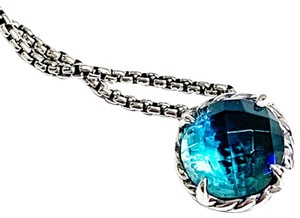 David Yurman GORGEOUS!! David Yurman Hampton Blue Chatelaine Necklace