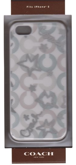 Coach Coach Hardshell Snow Queen Case Cover iPhone 5/5S