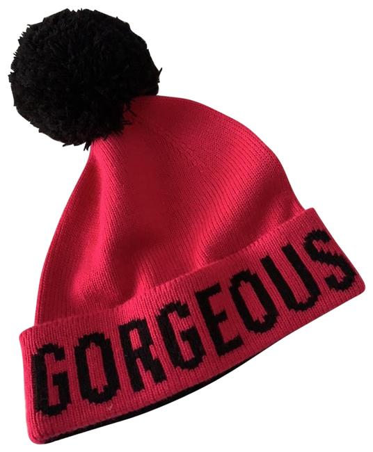 Item - Black and Hot Pink Ls1001792 Hat