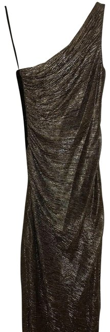 Item - Silver/Brown Long Formal Dress Size 8 (M)