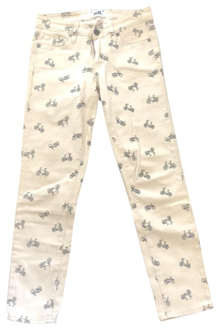 Item - Off White Kylie Crop Skinny Jeans Size 2 (XS, 26)