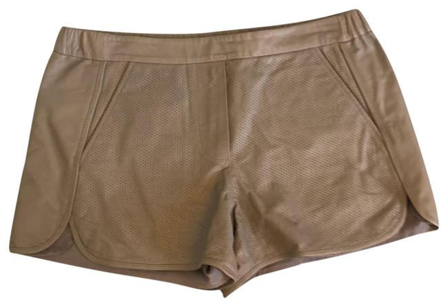 Item - Taupe Leather Shorts Size 2 (XS, 26)