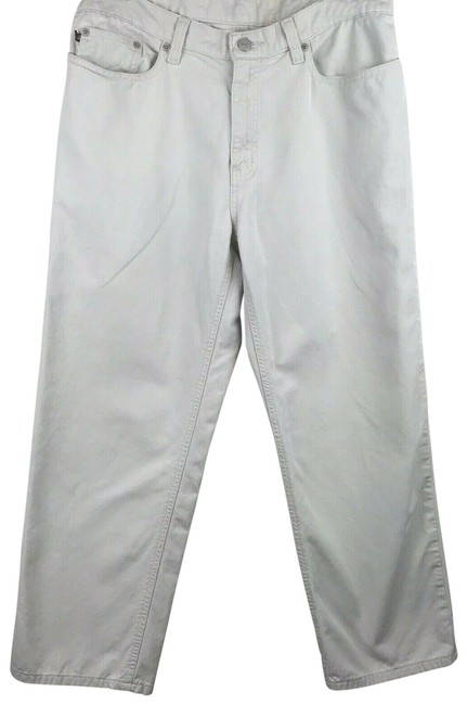 Item - Beige Saturday Cropped Straight Leg Jeans Size 33 (10, M)
