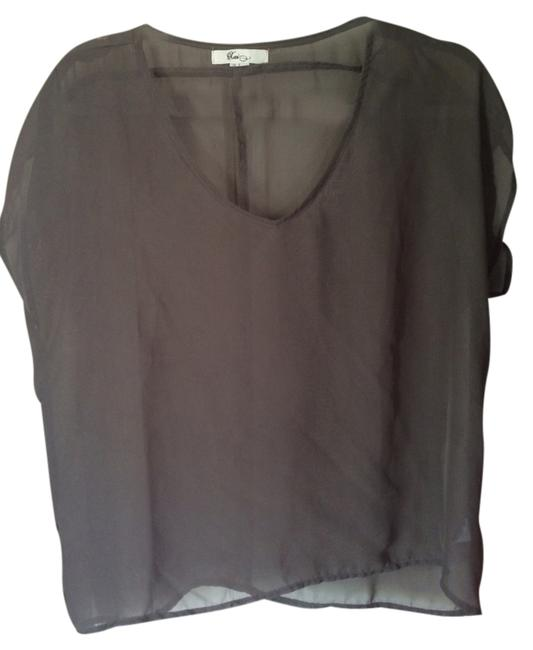 Forever 21 Top Grey/brown