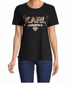 Karl Lagerfeld T Shirt Black