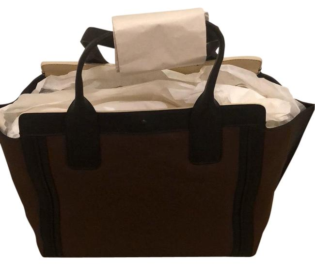 Item - Alisontote New Coffee Shot Leather Tote
