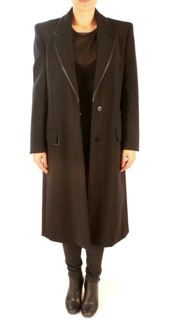 Item - Black Collection Classic Wool Coat Size 4 (S)