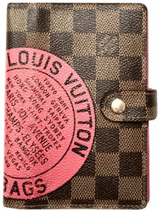 Louis Vuitton T&B Ebene Agenda Cover