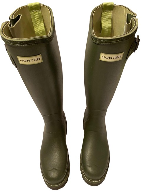 Item - Green Balmoral 3 Mm Neo Adjustable Commando Boots/Booties Size US 8 Regular (M, B)