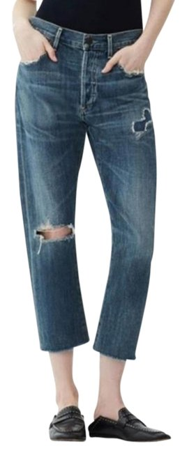 Item - Distressed Corey Slouch Slim Boyfriend Cut Jeans Size 28 (4, S)