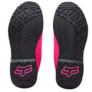Fox black and pink Boots