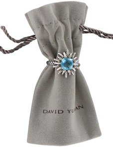 David Yurman David Yurman Blue Topaz STARBURST Ring