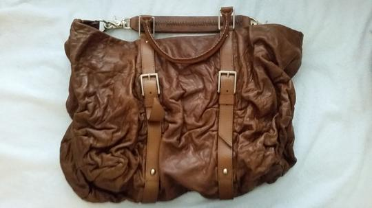 Botkier Sasha Duffle Leather Hobo Bag