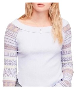 Free People T Shirt periwinkle