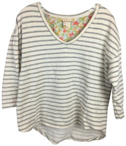 Matilda Jane Top Tan & Gray