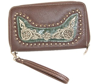 Boot Barn Wristlet in Brown