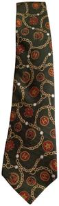 Chanel VINTAGE Authentic Chanel Men's Tie with pattern