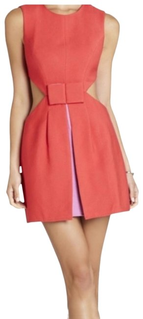 Item - Red and Purple Katheryn Short Cocktail Dress Size 6 (S)