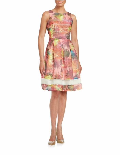 Item - Multicolor Belle Reed Mid-length Night Out Dress Size 12 (L)