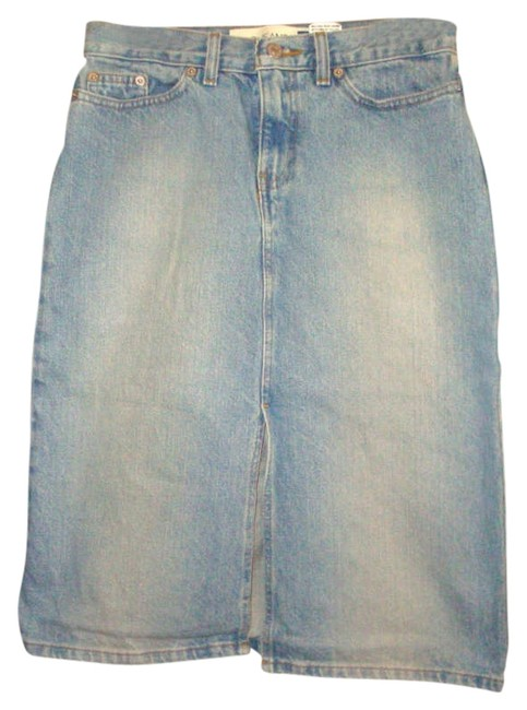 Gap Jean Skirt Blue Denim