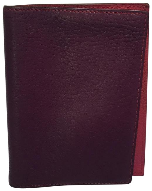Hermès Purple and Pink Bicolor Agenda/Passport Cover Hermès Purple and Pink Bicolor Agenda/Passport Cover Image 1