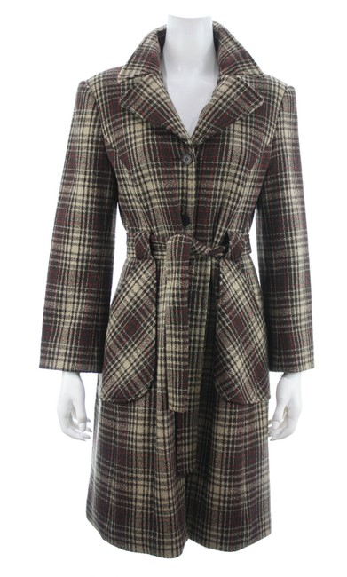 Item - Brown Plaid New with Tags Coat Size 10 (M)